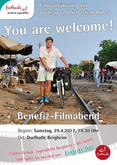 Plakat You are welcome Ansicht kl